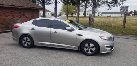2013 Kia Optima Hybrid for sale at Elite Auto Sales in Herrin IL