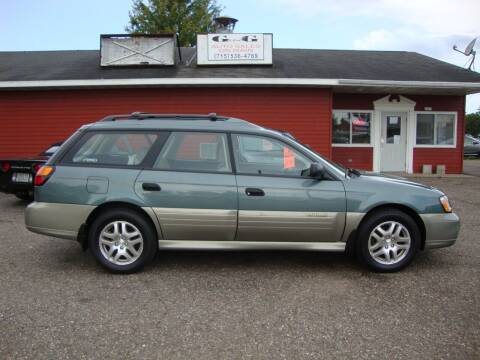 2002 Subaru Outback for sale at G and G AUTO SALES in Merrill WI
