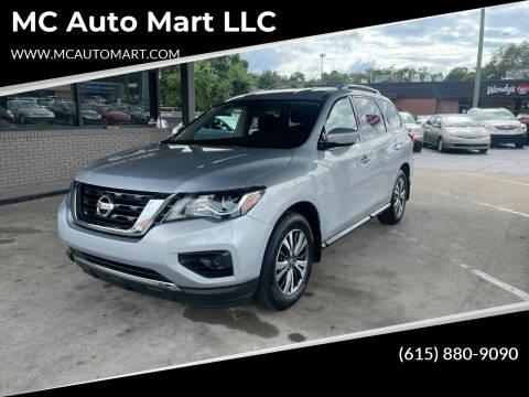2018 Nissan Pathfinder for sale at MC Auto Mart LLC in Hermitage TN