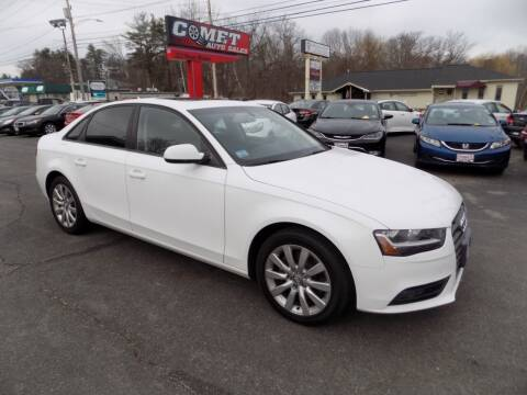 2014 Audi A4 for sale at Comet Auto Sales in Manchester NH