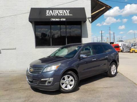 2014 Chevrolet Traverse for sale at FAIRWAY AUTO SALES, INC. in Melrose Park IL
