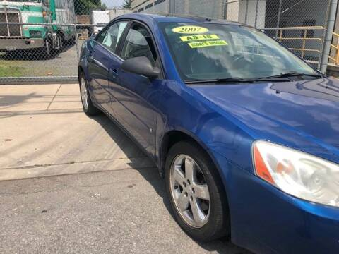 2007 Pontiac G6 for sale at O A Auto Sale in Paterson NJ