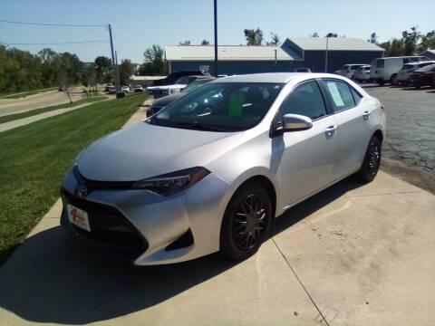 2018 Toyota Corolla for sale at Four Guys Auto in Cedar Rapids IA