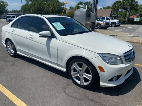 2010 Mercedes-Benz C-Class for sale at GOLD COAST IMPORT OUTLET in St Simons GA