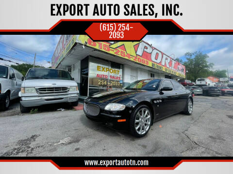 2006 Maserati Quattroporte for sale at EXPORT AUTO SALES, INC. in Nashville TN