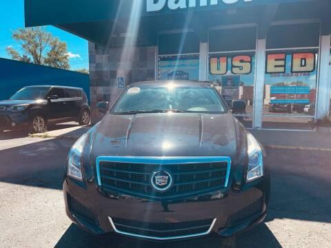 2017 Cadillac ATS for sale at Daniel Auto Sales inc in Clinton Township MI