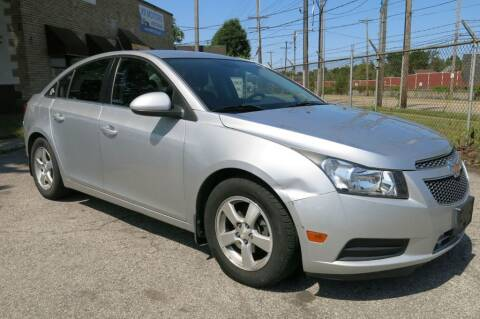 2013 Chevrolet Cruze for sale at VA MOTORCARS in Cleveland OH