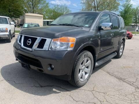 2008 Nissan Armada for sale at STL Automotive Group in O'Fallon MO