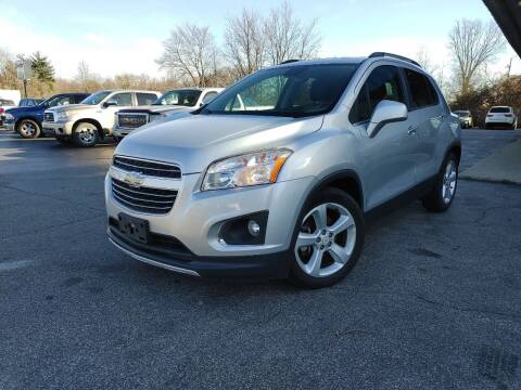 2015 Chevrolet Trax for sale at Cruisin' Auto Sales in Madison IN
