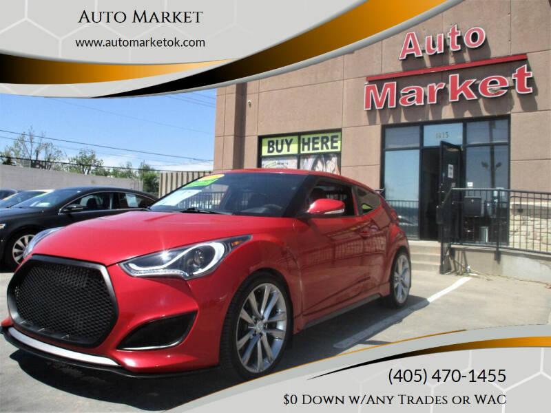 2015 Hyundai Veloster for sale at Auto Market in Oklahoma City OK