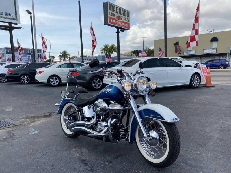 2005 Harley-Davidson Fat Boy for sale at MACHADO AUTO SALES in Miami FL