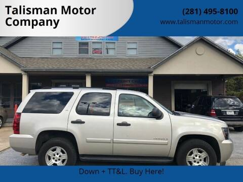 2007 Chevrolet Tahoe for sale at Don Jacobson Automobiles in Houston TX