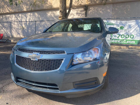 2012 Chevrolet Cruze for sale at GO GREEN MOTORS in Lakewood CO