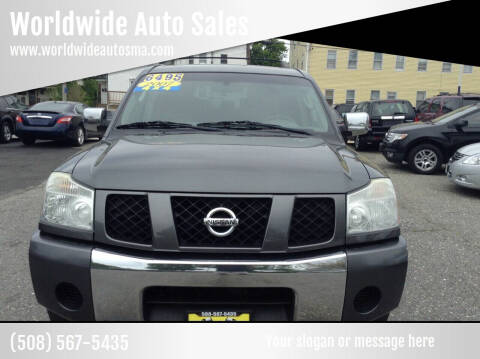 2007 Nissan Armada for sale at Worldwide Auto Sales in Fall River MA