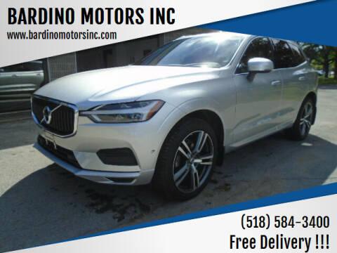 2019 Volvo XC60 for sale at BARDINO MOTORS INC in Saratoga Springs NY