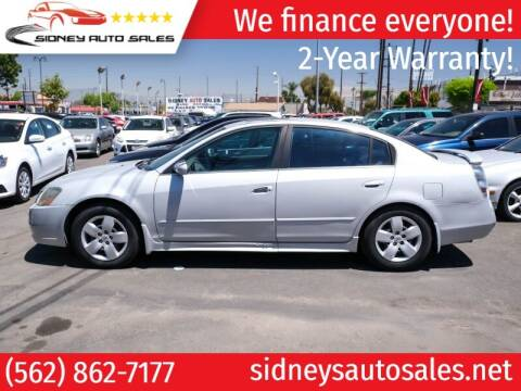 2005 Nissan Altima for sale at Sidney Auto Sales in Downey CA