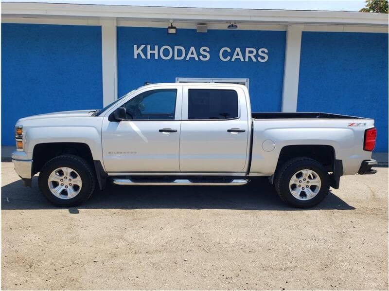2014 Chevrolet Silverado 1500 for sale at Khodas Cars in Gilroy CA