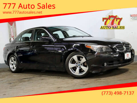 2007 BMW 5 Series for sale at 777 Auto Sales in Bedford Park IL