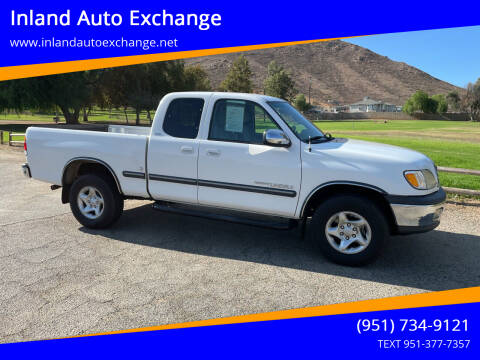 2000 Toyota Tundra for sale at Inland Auto Exchange in Norco CA