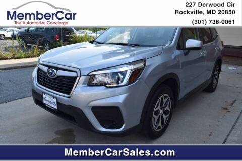 2020 Subaru Forester for sale at MemberCar in Rockville MD