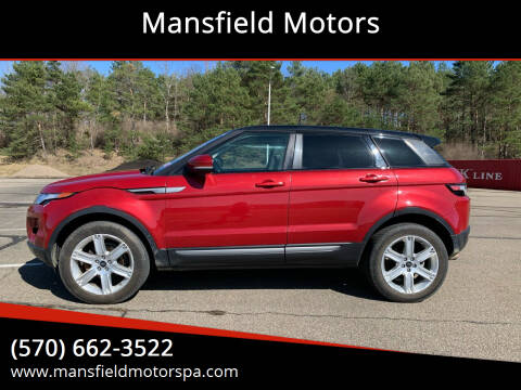 2013 Land Rover Range Rover Evoque for sale at Mansfield Motors in Mansfield PA