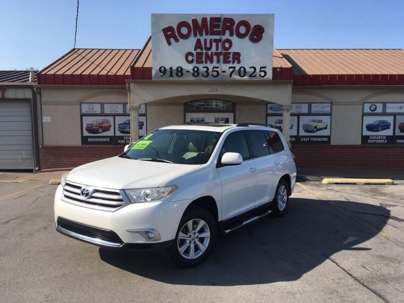 2011 Toyota Highlander for sale at Romeros Auto Center in Tulsa OK