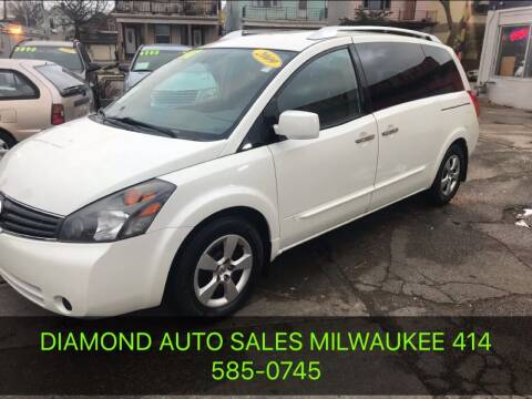 2009 Nissan Quest for sale at Diamond Auto Sales in Milwaukee WI