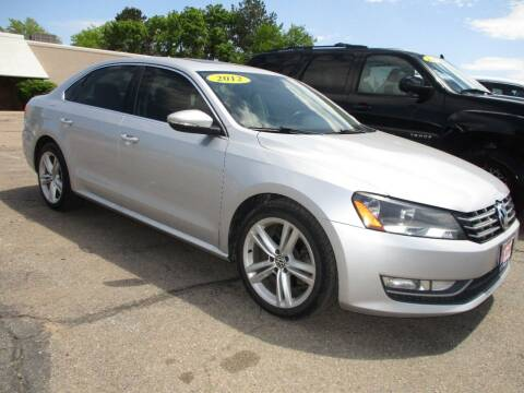 2012 Volkswagen Passat for sale at Advantage Auto Brokers Inc in Greeley CO