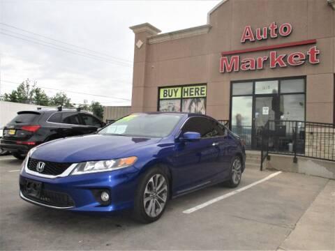 2015 Honda Accord for sale at Auto Market in Oklahoma City OK