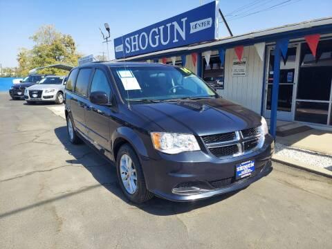 2014 Dodge Grand Caravan for sale at Shogun Auto Center in Hanford CA