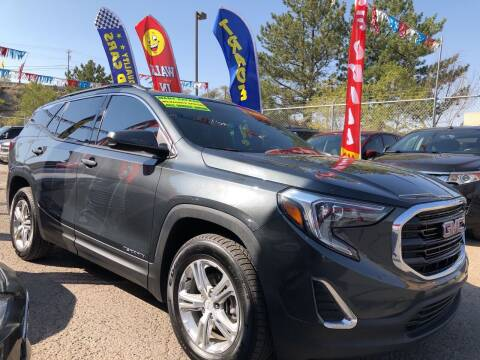 2018 GMC Terrain for sale at Duke City Auto LLC in Gallup NM