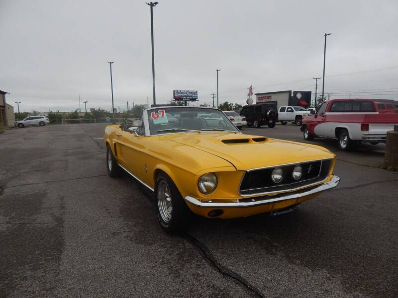 1967 Ford Mustang for sale at Iconic Motors of Oklahoma City, LLC in Oklahoma City OK