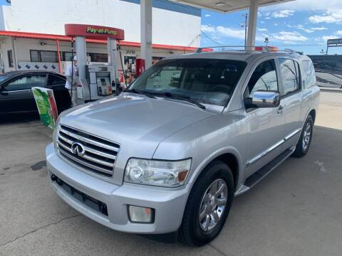 2005 Infiniti QX56 for sale at Aman Auto Mart in Murfreesboro TN