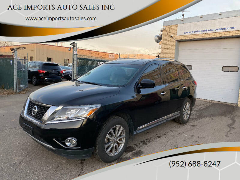 2015 Nissan Pathfinder for sale at ACE IMPORTS AUTO SALES INC in Hopkins MN