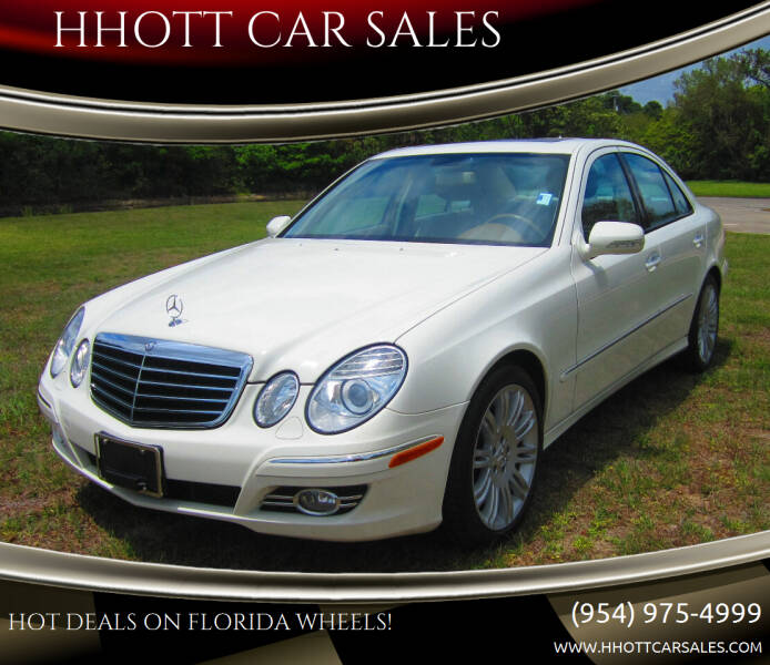 2007 Mercedes-Benz E-Class for sale at HHOTT CAR SALES in Deerfield Beach FL