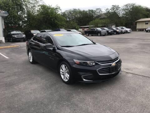 2017 Chevrolet Malibu for sale at Auto Solution in San Antonio TX