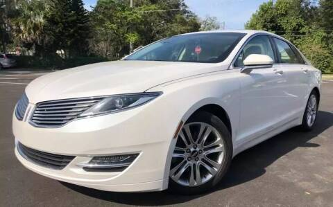 2014 Lincoln MKZ for sale at Consumer Auto Credit in Tampa FL