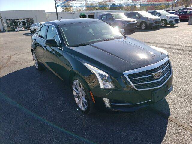 2015 Cadillac ATS for sale at LeMond's Chevrolet Chrysler in Fairfield IL