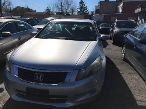 2008 Honda Accord for sale at Chambers Auto Sales LLC in Trenton NJ