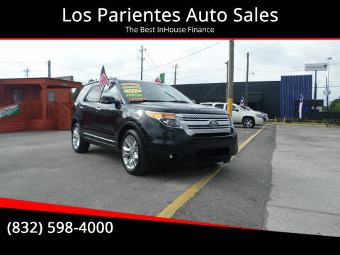 2013 Ford Explorer for sale at Los Parientes Auto Sales in Houston TX