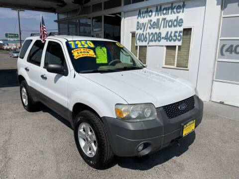 2007 Ford Escape for sale at Auto Market in Billings MT
