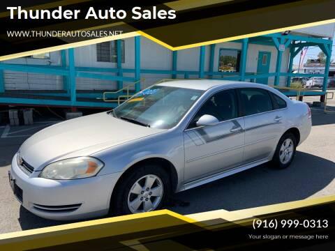 2011 Chevrolet Impala for sale at Thunder Auto Sales in Sacramento CA