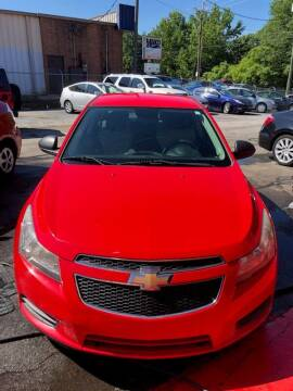 2014 Chevrolet Cruze for sale at LAKE CITY AUTO SALES - Jonesboro in Morrow GA
