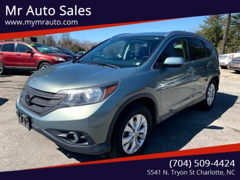2012 Honda CR-V for sale at Mr Auto Sales in Charlotte NC
