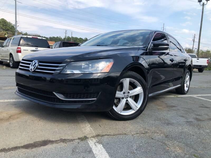 2013 Volkswagen Passat for sale at Atlas Auto Sales in Smyrna GA