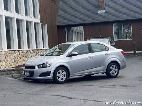 2014 Chevrolet Sonic for sale at Cupples Car Company in Belmont NH