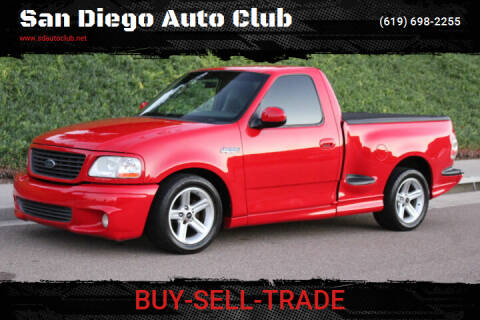 2003 Ford F-150 SVT Lightning for sale at San Diego Auto Club in Spring Valley CA