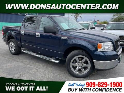 2005 Ford F-150 for sale at Dons Auto Center in Fontana CA