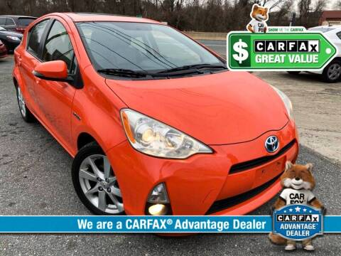 2012 Toyota Prius c for sale at High Rated Auto Company in Abingdon MD