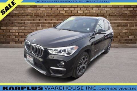 2017 BMW X1 for sale at Karplus Warehouse in Pacoima CA